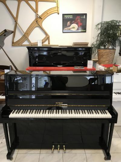Pianino Petrof model 116, r. v. 1994, se zárukou 3 roky.