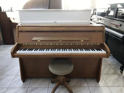 Pianino SCHIMMEL model Capraccio 7 vzáruce, Renner mechanika, sezárukou 2roky