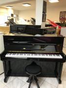Černé pianino KINGSBURG sezárukou, doprava zdarma