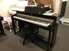 Digitální piano KURZWEIL vzáruce, včetně stoličky.