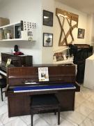 Německé pianino August Förster sezárukou, doprava zdarma.