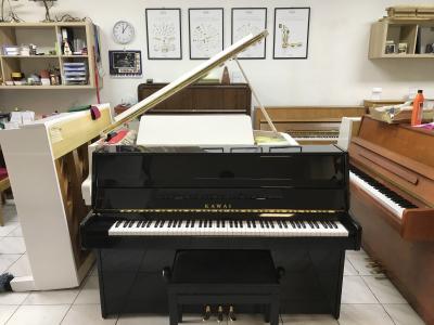Pianino Kawai se zárukou, včetně klavírní židle, doprava zdarma