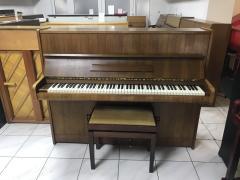 Pianino Scholze -Petrof 115 včetně židle.