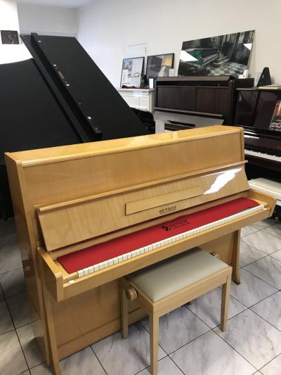 Pianino Petrof K 114 po prvním majiteli.