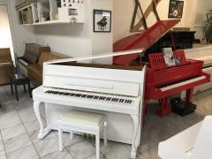 Bílé pianino Kawai model C-107 made in Japan, záruka 3 roky.
