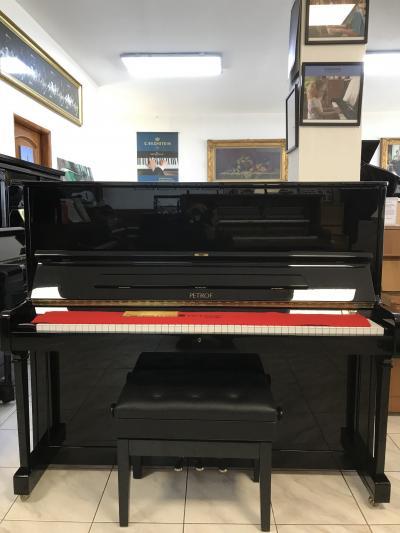 Pianino Petrof P125 se zárukou a doprava zdarma, Renner mechanika.