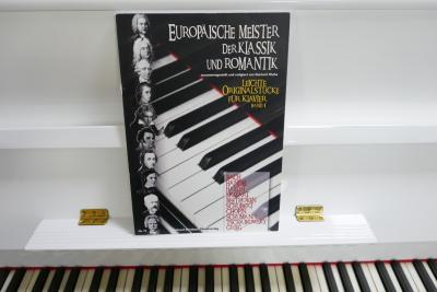 Noty pro klavír na prodej
