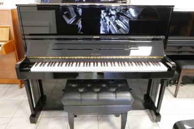 Zánovní pianino Petrof model 125 G1 s RENNER mechanikou, záruka<br>5 let, doprava zdarma.