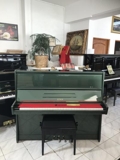 Pianino Petrof Opera 125 (zelené Lamborghini), se zárukou 2 roky