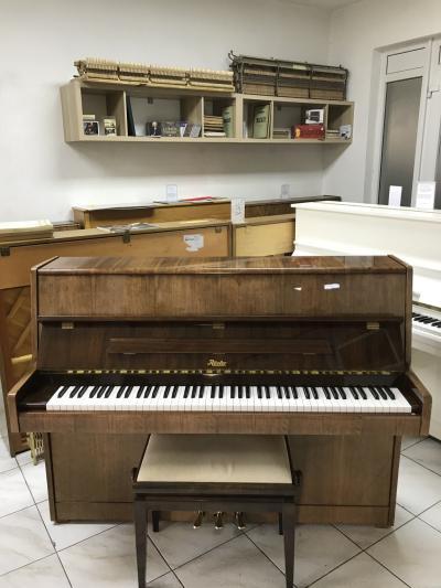Pianino Rösler po prvním majiteli, krásný zvuk, záruka 3 roky.
