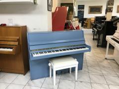 Modré pianino May se zárukou 2roky, doprava zdarma.