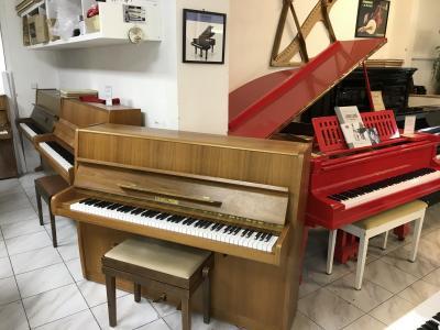 Německé pianino Fuchs & Mohr