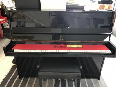 Černé pianino Petrof vzáruce, opus 402617, doprava zdarma.