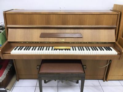Pianino Rösler - Petrof sezárukou + dárek skládací přenosné piano.
